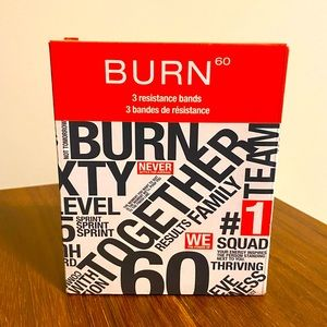 Burn 60 Resistance Bands
